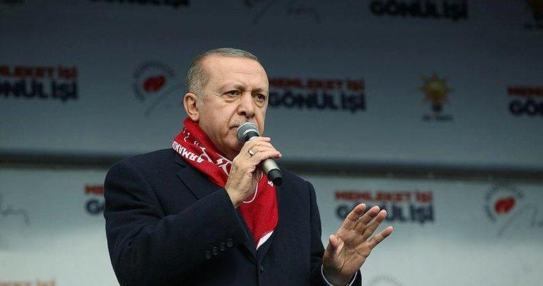 Başkan Erdoğan'dan Sivas'ta önemli açıklamalar