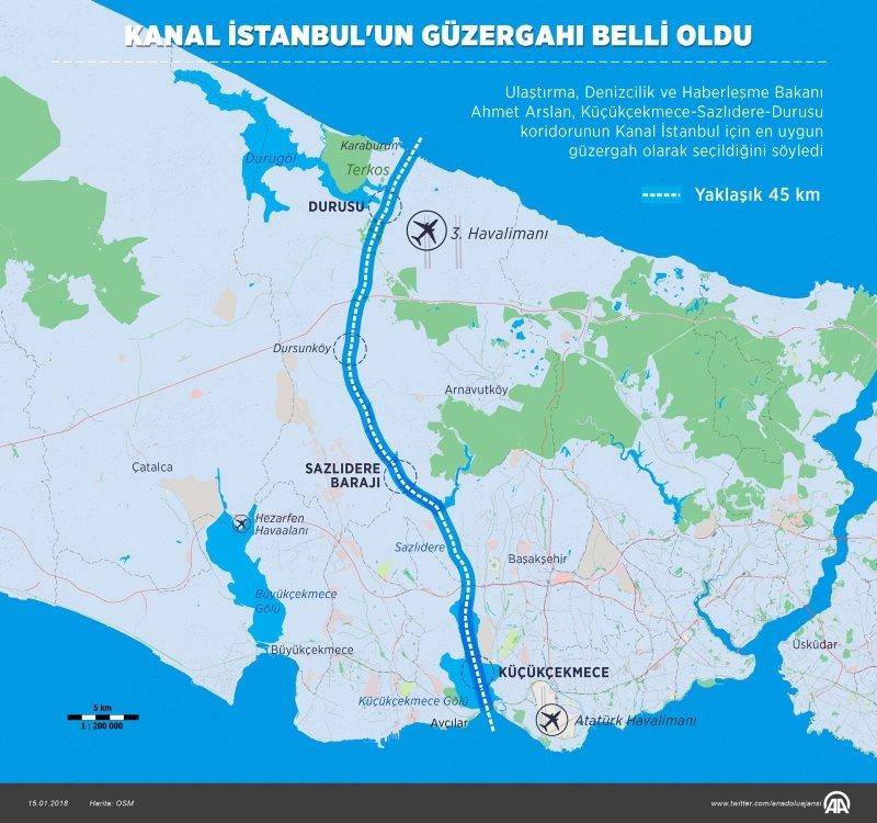 Kanal İstanbul için söylenen 21 yalan ve 21 gerçek!