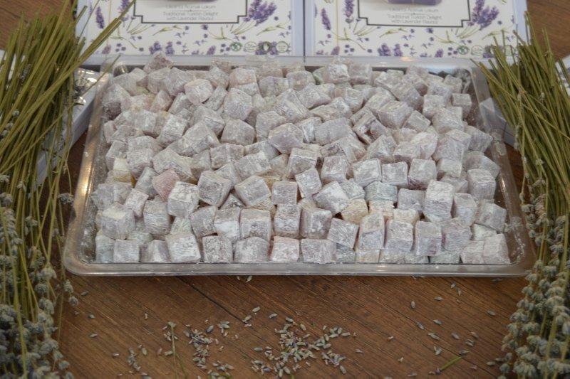 Afyonkarahisar'da üretilen lavanta lokumuna yoğun ilgi