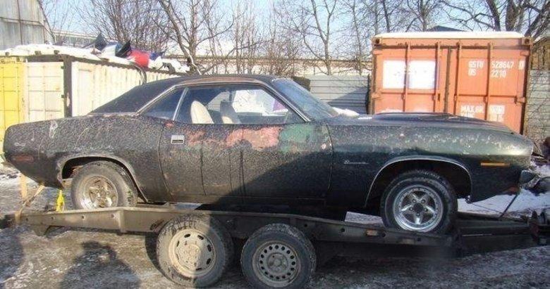 1970 model aracın göz alıcı değişimi! Paha biçilemiyor!