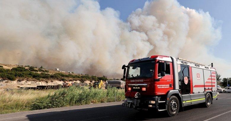 Foça yangınını çocuklar çıkardı iddiası! Kaymakamdan flaş açıklama