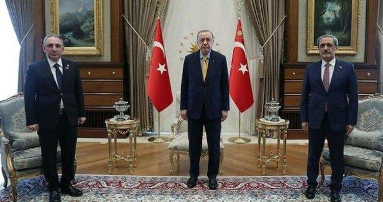 Başkan Erdoğan, Azerbaycan Cumhuriyeti Başsavcısı Aliyev'i kabul etti