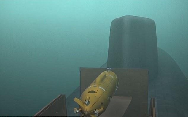 Putin'in 'kamikaze denizaltısı' göründü