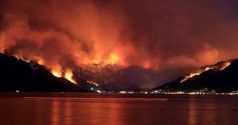 Son dakika: Marmaris'te orman yangını: 1 kişi hayatını kaybetti