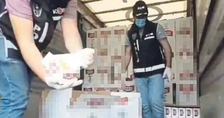 İzmir'de 4 bin 645 litre sahte etil alkol bulundu