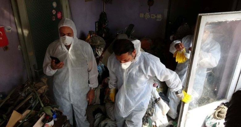Cihangir'de trilyonluk çöp ev