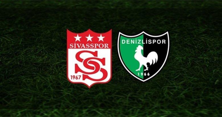 Denizlispor Sivas deplasmanında! Sivasspor Denizlispor maçı ne zaman? Sivasspor Denizlispor maçı saat kaçta? Sivasspor Denizlispor maçı hangi kanalda?