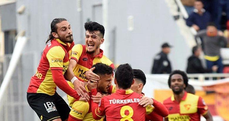 Göztepe'de golcüler coştu, takım şahlandı