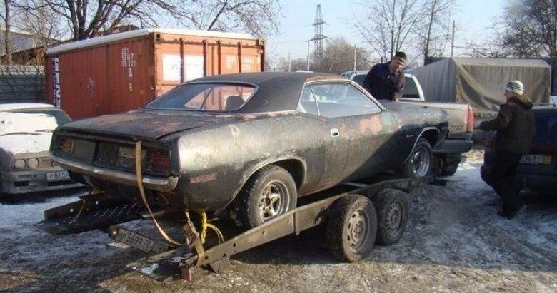 1970 model hurda aracın değişimi görenleri şok etti