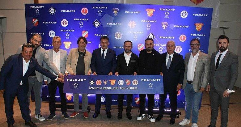 Folkart, İzmir'in 7 futbol takımının forma ana sponsoru oldu