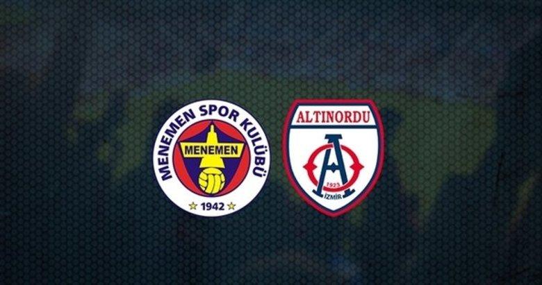 Menemenspor - Altınordu FK maçı ne zaman? Saat kaçta? Hangi kanalda yayınlanacak? Maçın hakemi kim?