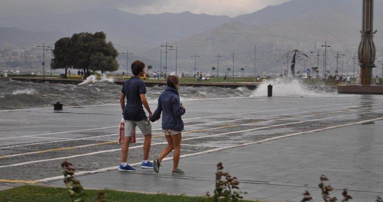 İzmir ve Egede hava bugün nasıl olacak?