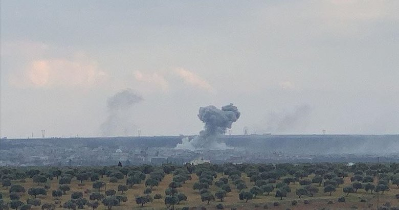 TSK Halep'teki Neyrab askeri havaalanını yerle bir etti