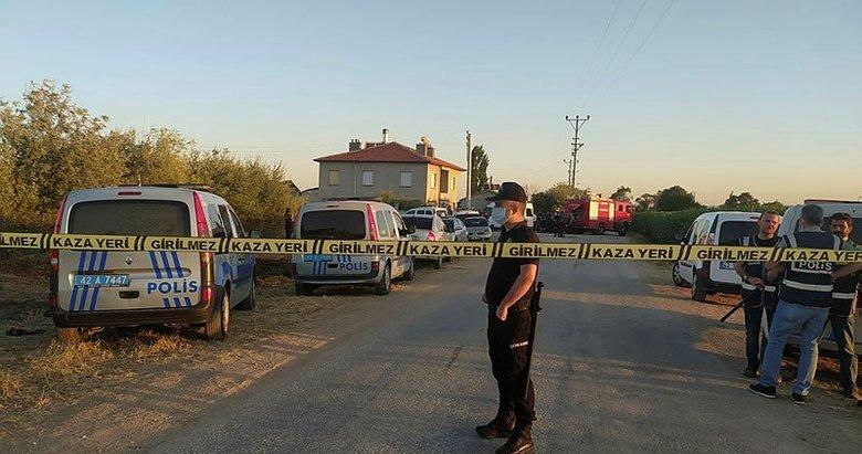 Konya'da katliam: Aynı aileden 7 kişi öldürüldü