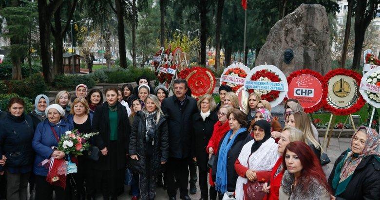 Atatürk'ün annesi Zübeyde Hanım İzmir'de anılıyor