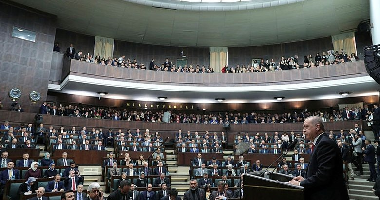 Başkan Erdoğan'dan AK Parti Grup Toplantısı'nda açıklamalar