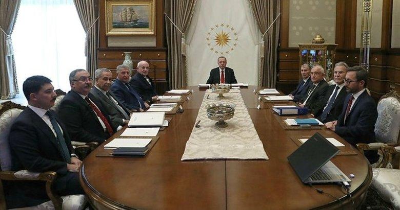 Cumhurbaşkanlığı Yüksek İstişare Kurulu toplantısı başladı