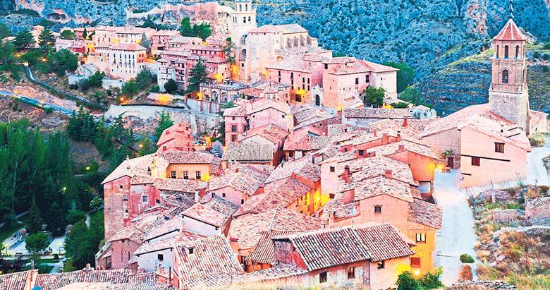 Avrupa köylerinde sonbahar turu