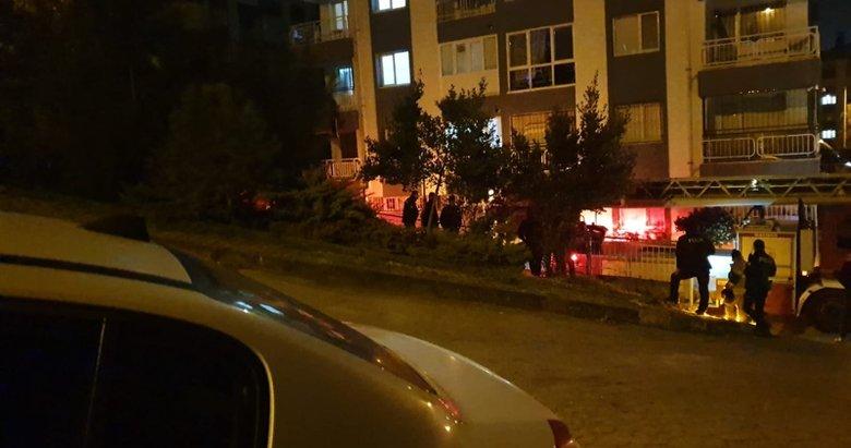 İzmir Çiğli'de intihar!