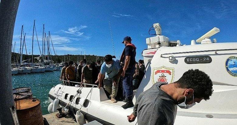 Yunanistan unsurlarının geri ittiği 197 göçmen kurtarıldı