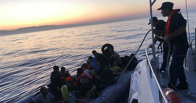 Aydın Didim'de 41 düzensiz göçmen yakalandı