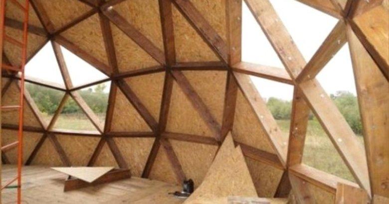 Bu evleri 2 saatte yapılıyorlar 300 yıl dayanıyor