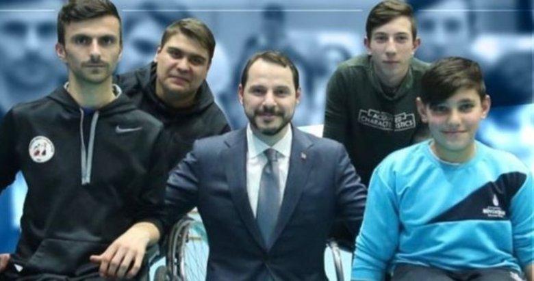 Bakan Berat Albayrak'tan Dünya Engelliler Günü mesajı