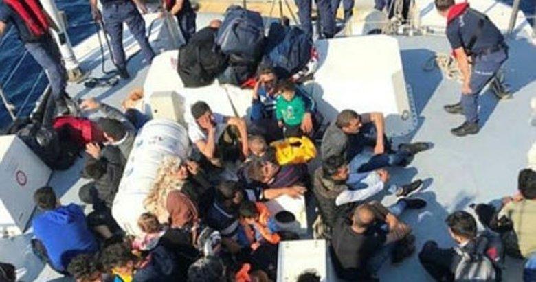 Bodrum'da 51 kaçak göçmen yakalandı