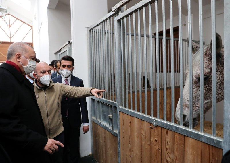 Başkan Erdoğan Ankara Geleneksel Sporlar Tesisi'nde incelemelerde bulundu