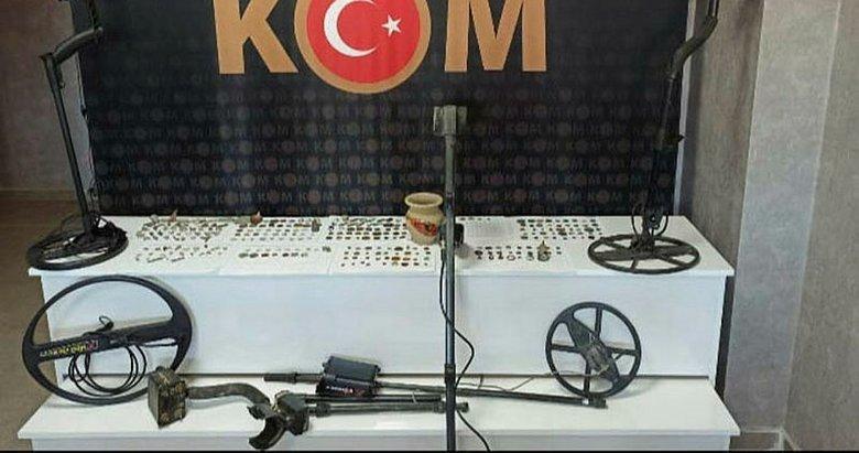 Aydın'da 'tarihi eser' operasyonu: 5 gözaltı