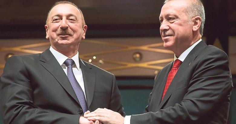 Erdoğan Aliyev ve Akufo-Addo ile görüştü