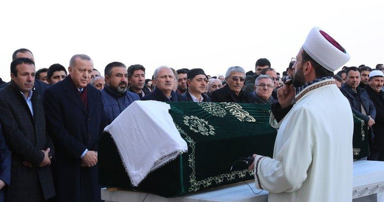 Başkan Erdoğan, cenaze namazına katılmıştı! Kim olduğu ortaya çıktı