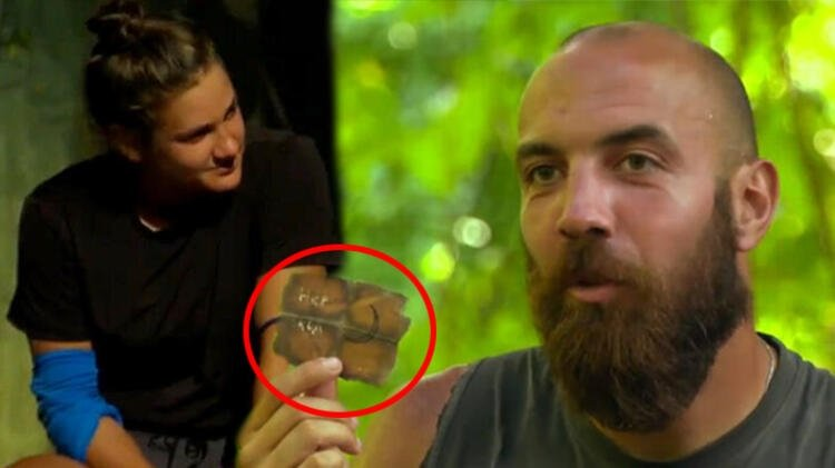 Survivor'da Sercan, Nisa'nın kendisine yazdığı notları gösterdi!