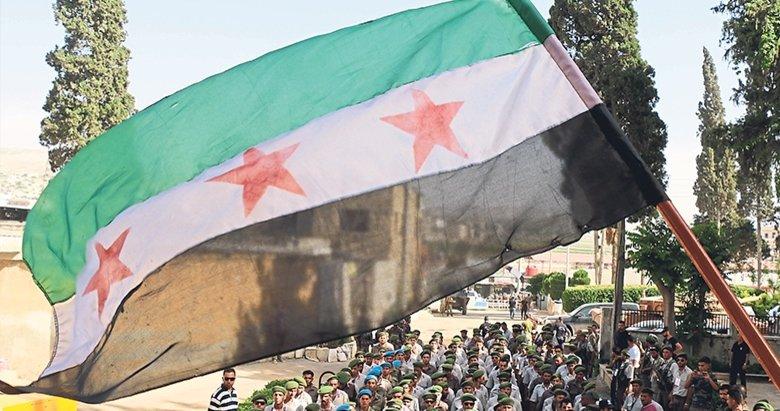 Afrin'de Suriyeli polisler görevde