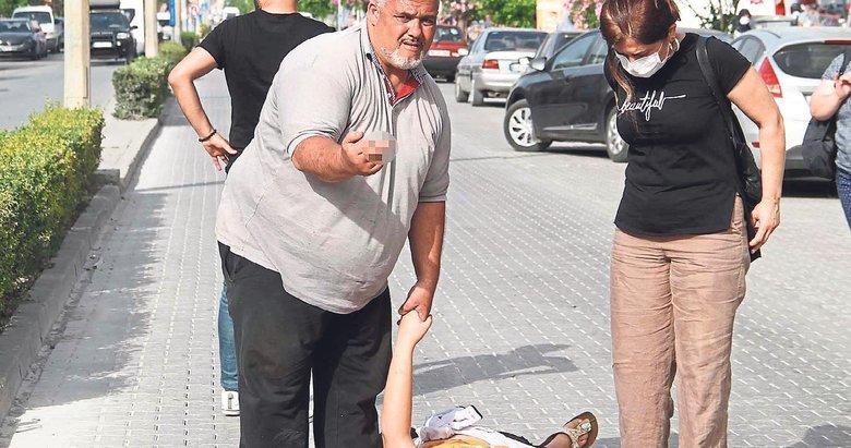 Kızının derdini bırakıp muhabirlere sataştı