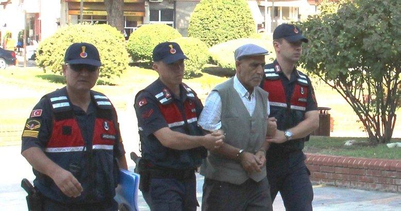 Evlat katili baba tutuklandı