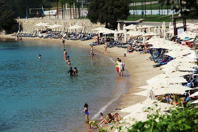 Avrupalı turist Bodrum'a akın etti