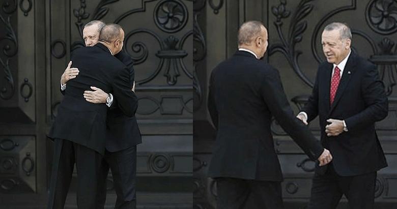 Başkan Erdoğan'a coşkulu karşılama