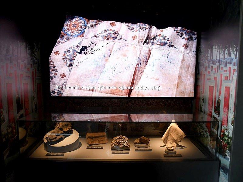 Çanakkale Mobil Müze TIR'ı Kuşadası'nda