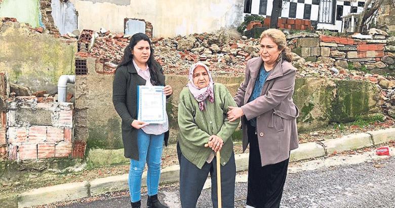 CHP'li belediye öldü sanıp evini yıktı