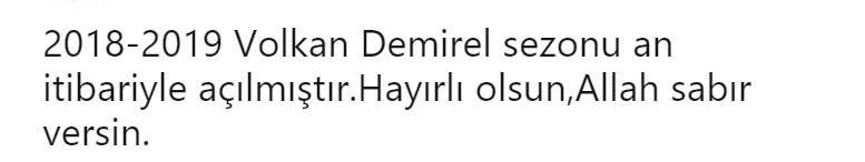 Benfica - Fenerbahçe maçı sonrası Volkan Demirel'e tepki!