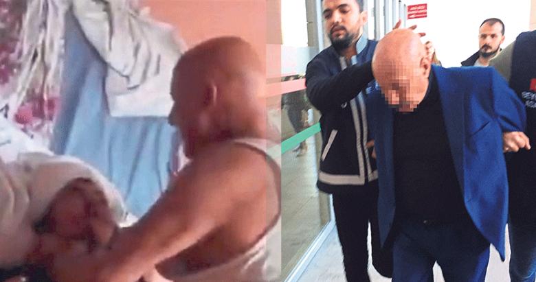 İşkence yapan baba tutuklandı