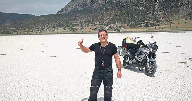 Motosikletli tur ölümle son buldu