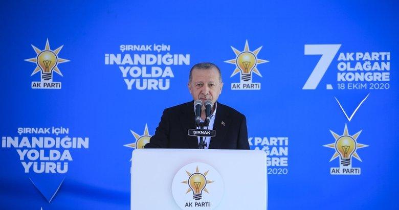 Son dakika: Başkan Recep Tayyip Erdoğan'dan Şırnak'ta önemli açıklamalar!