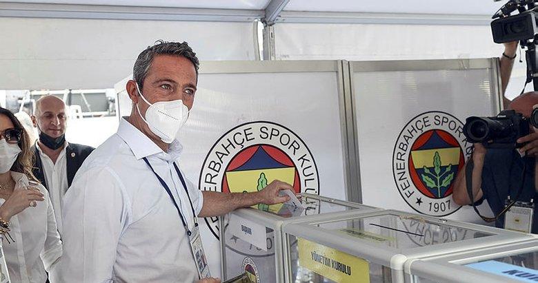 Ali Koç yeniden FB'ye başkan seçildi
