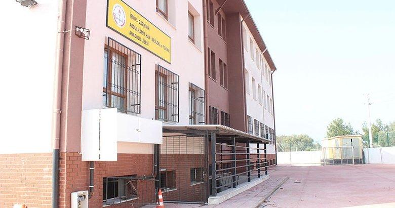 İzmir'de okulun kazan dairesindeki patlama