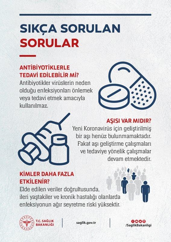 Sağlık Bakanlığı'ndan koronavirüs bilgilendirmesi!