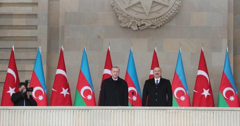 Son dakika: Azerbaycan'da Zafer Kutlaması! Başkan Erdoğan ve Aliyev'den önemli mesajlar