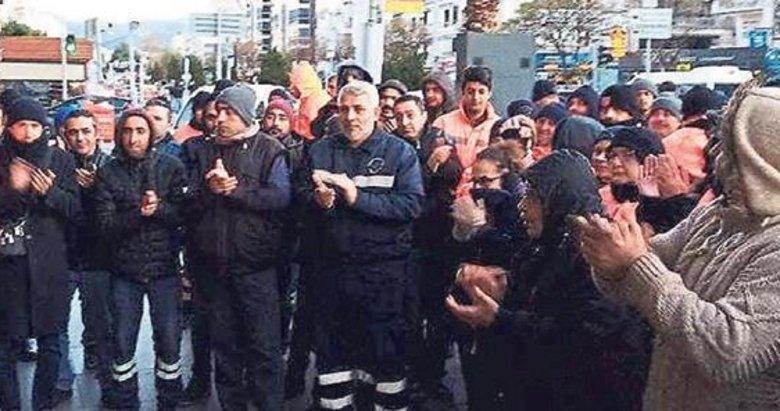 Karşıyaka'da işçiler isyanda: Anlaşma olmazsa işe gitmeyeceğiz