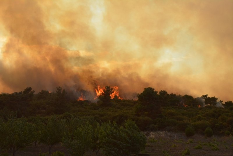 Çanakkale'de ciğerlerimiz yandı